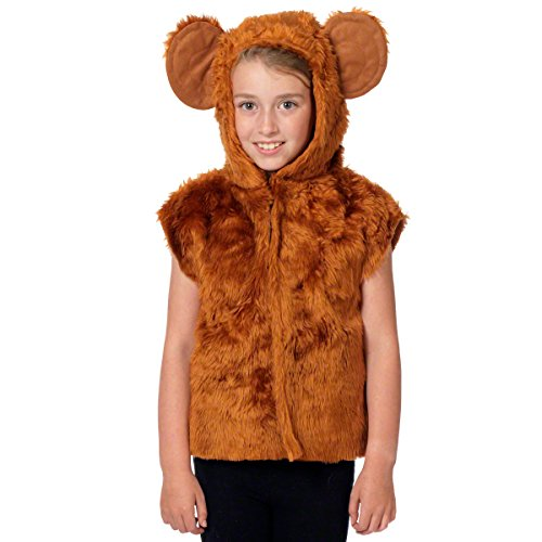 Affen Kostüm Für Kinder - Einheitsgröße 3-9 Jahre.