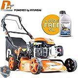 Hyundai Engine P1PE P4600SPE 139cc Petrol Lawnmowers Self Propelled Electric Start 18 Inch