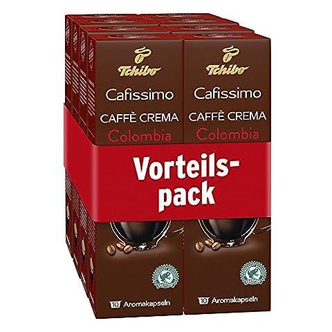 Tchibo Cafissimo Ländersorten Caffè Crema Colombia, 80 Kapseln in Großverpackung