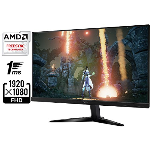 "Acer Consumer KG271 Bmiix 27"" Full Hd (1920 X 1080) TN Monitor With AMD Freesync Technology (2 X HDMI & VGA Port)"