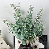 Ausomely Künstliche Eukalyptus Pflanze Künstliche Leaf Greenery Kunstpflanze Urlaub Hochzeit Home Dekoration Zubehör