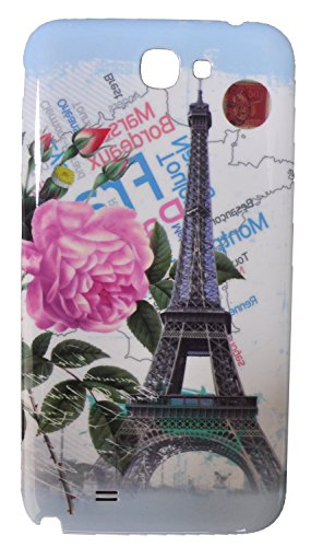iCandy™ Hard Back Panel Replacement cover for Samsung Galaxy Note 2 N7100 - Paris  available at amazon for Rs.109