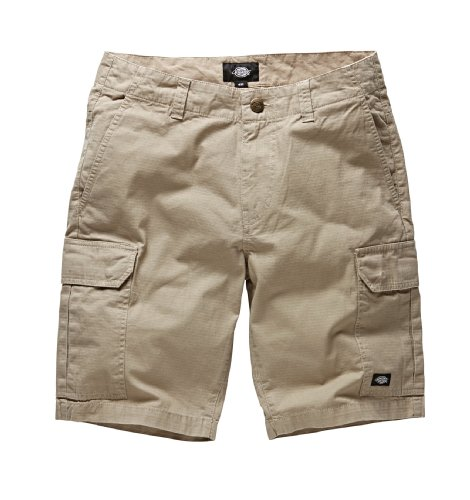 Dickies - New York, Pantaloni corti da uomo, Beige (Khaki), 46 it (32w