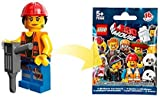 The Lego Movie - Gail The Construction Worker Minifigure