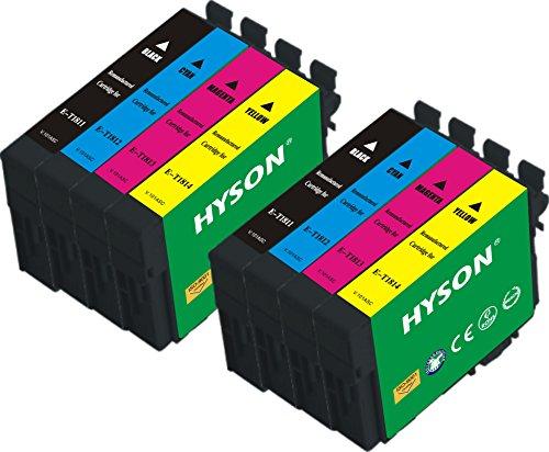 Hyson cartuccia rigenerata Epson T1811T1812T18131814(T18X L T1816) compatibile per stampante