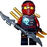 LEGO Ninjago Minifigur Ny Skybound goldener Rüstung mit 3 GALAXYARMS Schwertern