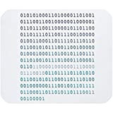 Alfombrilla de ratón con Frases Divertidas y refrán, Alfombrilla de Goma Antideslizante de código Binario Alfombrilla de ratón para Juegos de 30 * 25 * 0.3 cm