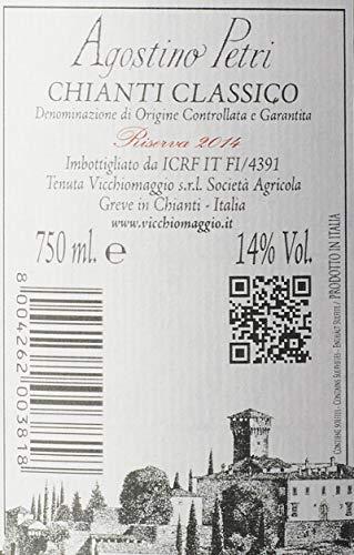 Vicchiomaggio Chianti Classico Riserva DOCG Agostino Petri Castello Tuscany Wine 75 cl