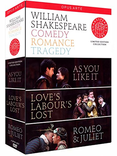 William Shakespeare - Comedy/Romance/Tragedy [Limited Edition] [4 DVDs] -