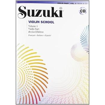 Suzuki Violin School 1 + CD