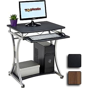 genuine piranha minnow compact computer desk w keyboard shelf home office pc11g - Compact Computer Desk