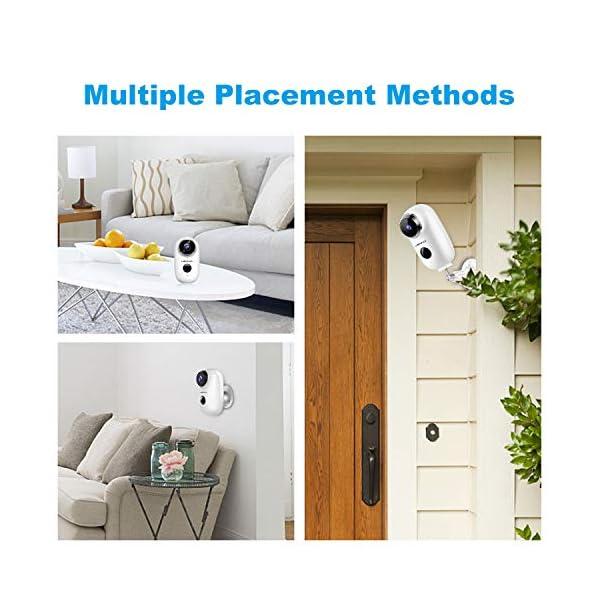Lemnoi-Telecamera-di-Videosorveglianza-Batteria-Wifi-senza-Fili-1080P-Telecamera-batteria-Wireless-Interno-e-Esterno-impermeabile-IP65-Visione-Notturna-Audio-Bidirezionale-sensore-di-movimento
