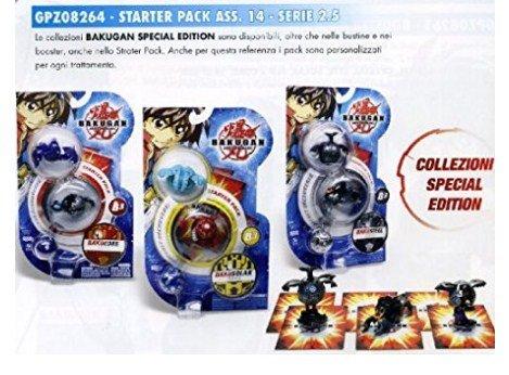 Sammlung Bakugan Gpz-Starter Pack Serie 14 Serie 2.5 (Vorbehaltlich der Wahl)