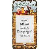 Nostalgic-Art Segno Tin con notepad - Homemade Marmalade