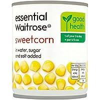 Maíz dulce esencial Waitrose 200g