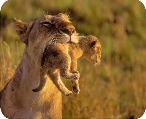 NEW Lion Love Mom Tapis de souris Tapis de souris Pad