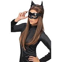 Rubie 's oficial de Catwoman de Batman máscara y orejas, disfraz para adultos – talla única
