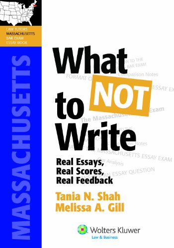 Get What Not to Write: Real Essays, Real Scores, Real