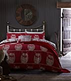 Catherine Lansfield A Wise Old Owl Double Duvet Set