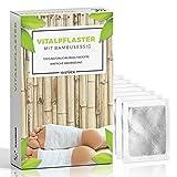 10 Detox Pflaster · Vitalpflaster zum Körper entgiften · Bambuspflaster mit Turmalin · Fußpflaster zum entschlacken · AKTION 2 PACKUNGEN KAUFEN UND NUR 1 BEZAHLEN