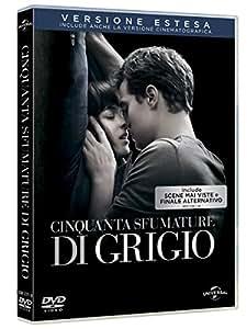 Cinquanta Sfumature di Grigio (Versione Cinematografica + Versione Estesa) (DVD)