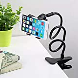 Catchy Flexible Car/ Home Mobile Phone/ Mobile Holder Mount Stand For Gionee F103 / Gionee P7 Max / / Gionee M7 Power / / Gionee S6s / / Gione A1 / Gionee P5w / Gionee A1 Lite / Gionee X1 / Gionee P7 / Gionee S6 Pro / Gionee Marathan M5 / And All Other Ph