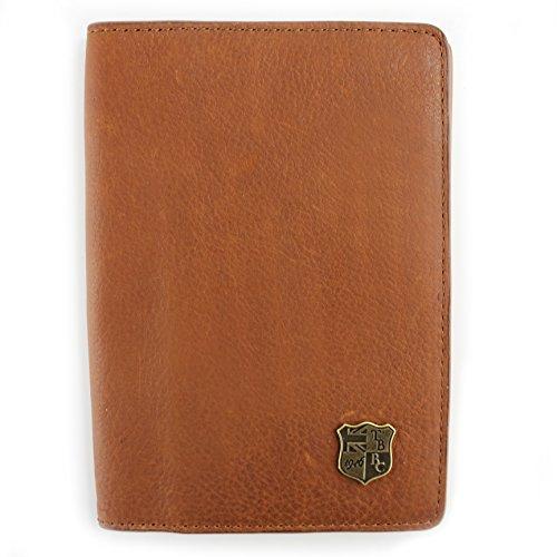 WHITEFORD 100% Rugged geölt echtes Leder Passport Halter mit fünf Kartenfächer Gr. onesize, hautfarben (Leder Echt-passport-halter)