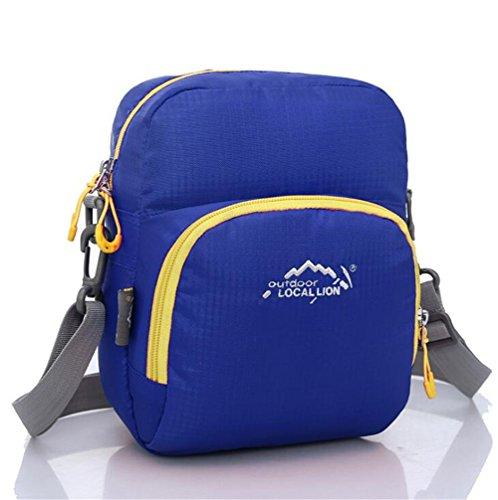 Wmshpeds La moda per il tempo libero borsa Messenger mini multi-funzionale sacchetto esterno femmina borsa sportiva A