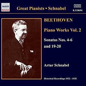 Beethoven: Piano Works Vol. 2 [Recorded 1932-35]