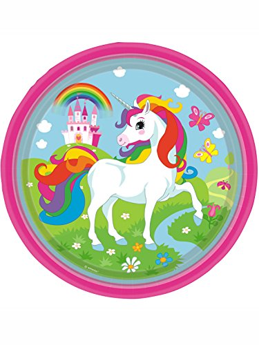 Amscan-International-9902103-Licorne-Serviettes-en-papier-33-cm