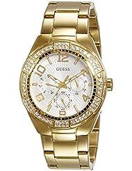 Guess Damen-Armbanduhr Analog Quarz Edelstahl W0729L2