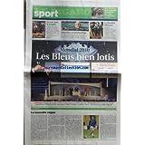 FIGARO SPORT (LE) [No 19694] du 26/11/2007 - MONDIAL 2010 / LES BLEUS BIEN LOTIS - LA NOUVELLE VAGUE PAR CHAMBAZ - HAND / LE MONDIAL DEBARQUE - NATATION / MANAUDOU - SPORTS EQUESTRES / LE SAUT DANS LA TEMPETE - SKI NAUTIQUE / UNE NOUVELLE DISCIPLINES