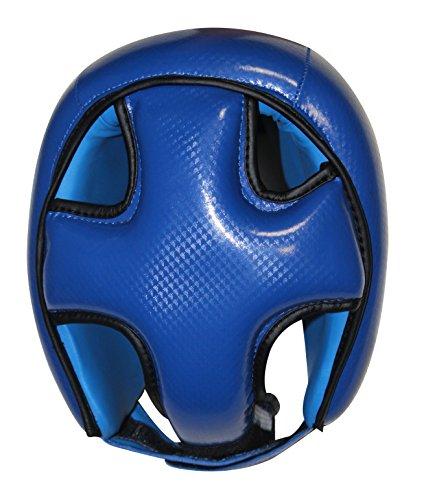 Boxen Kopfschutz, MMA Muay Thai Kickboxen blau Abbildung 3
