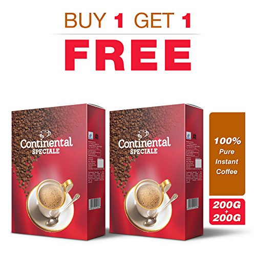 Continental Coffee Instant Coffee, 200 gm Bag in Box