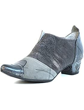 Maciejka Donna scarpa décolleté grigio, (grau-kombi) 03132-03/00-5