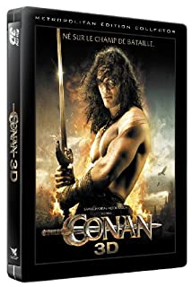 Conan - Édition Collector - Combo Blu-ray 3D +2D + DVD [Blu-ray] [Combo Blu-ray 3D + 2D + DVD - Édition Collector boîtier SteelBook] (B005QVX81G) | Amazon price tracker / tracking, Amazon price history charts, Amazon price watches, Amazon price drop alerts