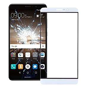 Huawei Ascend Mate 9 Display Glas Touch Screen Front Glass Weiß Neu