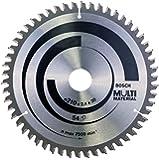 Bosch Pro Kreissägeblatt zum Sägen in Multi Material für Handkreissägen (Ø 210 mm)