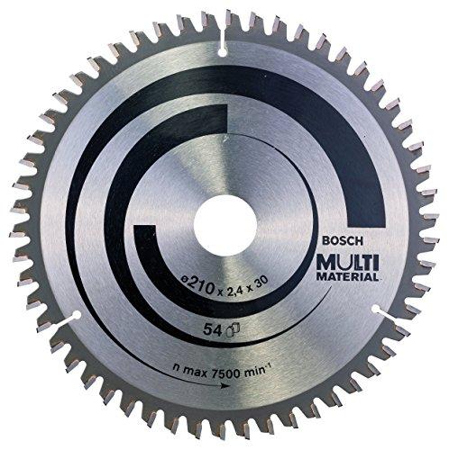 Bosch Professional Kreissägeblatt (für Multi Material, AußenØ: 210 mm Bohrung: 30 mm, Zubehör für Kreissäge)