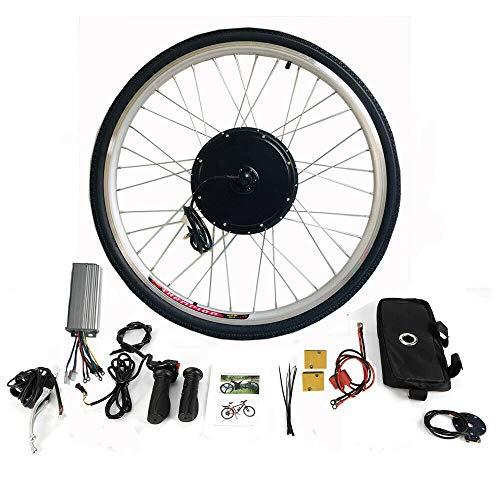 "MOMOJA E-Bike Conversion Kit 28\"" Hinterrad Fahrrad Umbausatz BrushLess Motor (36V 500W)"