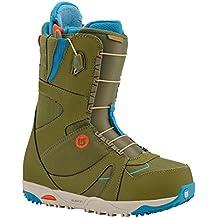Burton Emerald–Botas de snowboard para mujer/de la mujer verde/azul/rojo/UK 5
