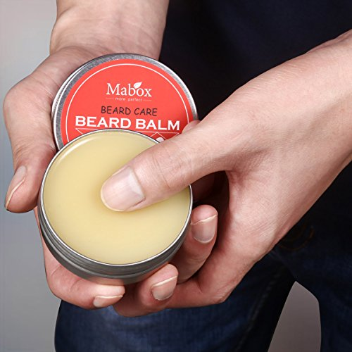 Beard-Balm-For-Men-The-Orange-Cedarwood-Scent-2-oz-All-Natural-Ingredients-Keeps-Beard-and-Mustache-FullSoft-and-HealthyReduce-Itchy-and-Flaky-SkinPromote-Healthy-Growth