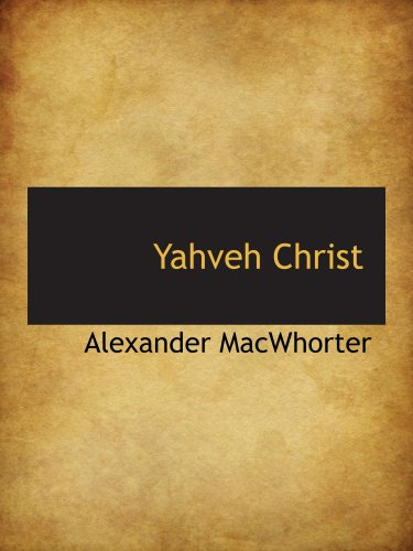 Yahveh Christ