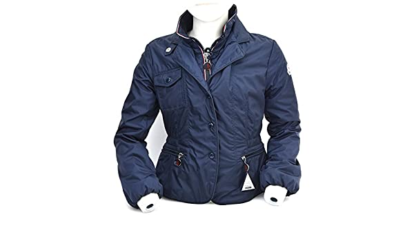 ae18257d3312 MONCLER JUNIOR GIRL WINDBREAKER JACKET BLUE CODE PDSS31 - LDSS31 ...