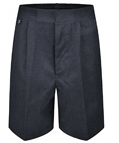 Westwood Boys Pull up School Trousers Teflon Elasticated Pull On Black Grey Navy Age 2 3 4 5 6 7 8 9 10 11 12