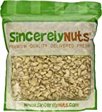 Sincerely Nuts Raw Cashew Pieces Unsalted- Three (3) Lb. Bag - Sensationally Scrumptious - Total Freshness - Filled With Healthy Nutrients