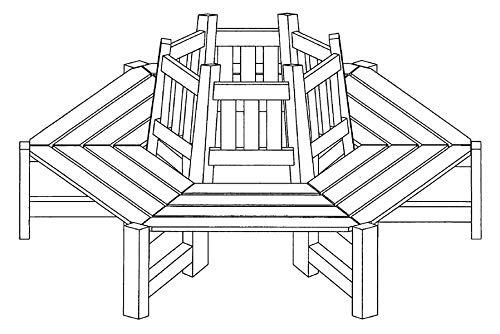 Baumbank von Gartenpirat® - 3