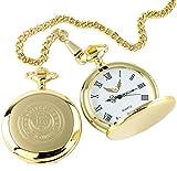 Bitcoin Taschenuhr 24K Gold Beschichtet Luxus Geschenk in Holz Geschenk für Buchhalter Gott Edelstahldraht Händler Internet Traders