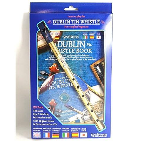 Dublin Tin Whistle CD Pack