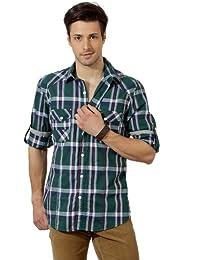 Indigo Nation Men Cotton Shirt